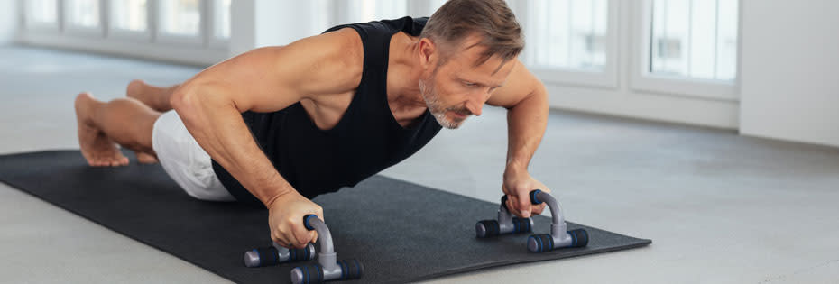 Maintaining muscle as we age with resistance training