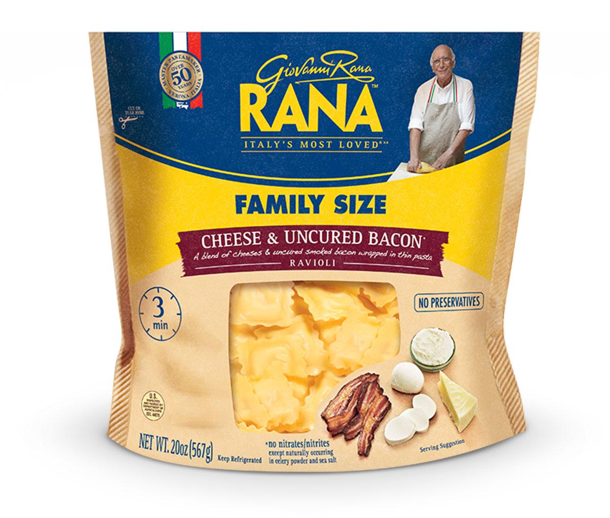 Cheese & Uncured Bacon Ravioli
