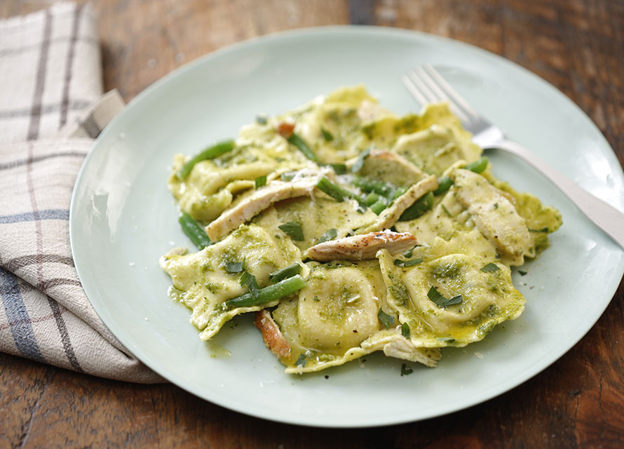 spinach and ricotta ravioli calories