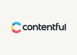 Contentful Logo - grey background