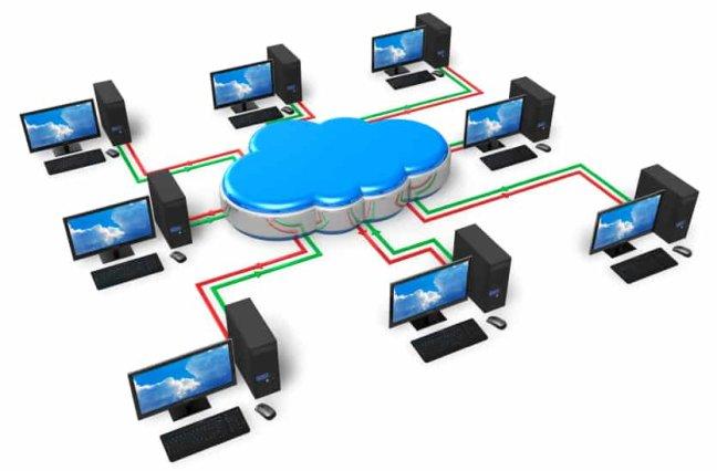 Cloud computing contact center