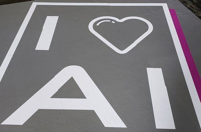 I love AI signage