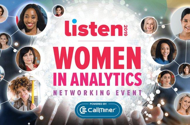 LISTEN 2019 Women in Analytics