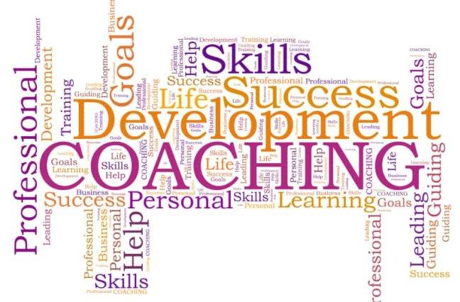 Coaching word cloud