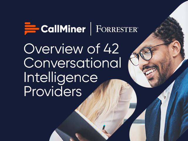 Forrester Now Tech: Conversational Intelligence