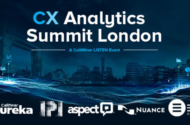 CX Summit London - London city scape