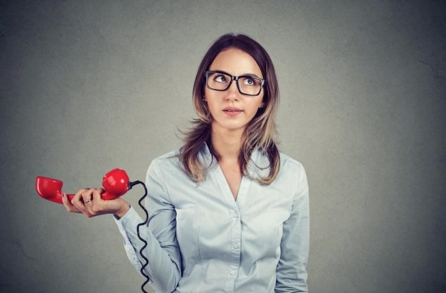 woman frustrated on phone