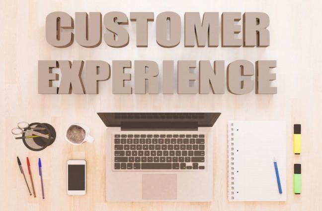 Customer Experience clean desk