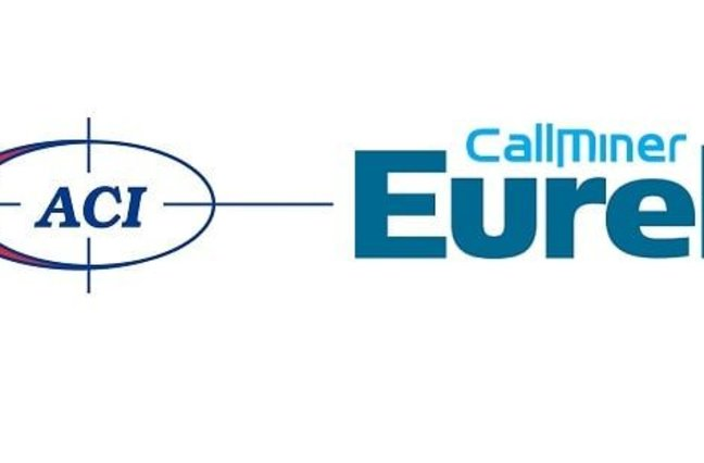 ACI and CallMiner logos