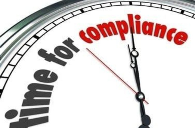 time for compliance
