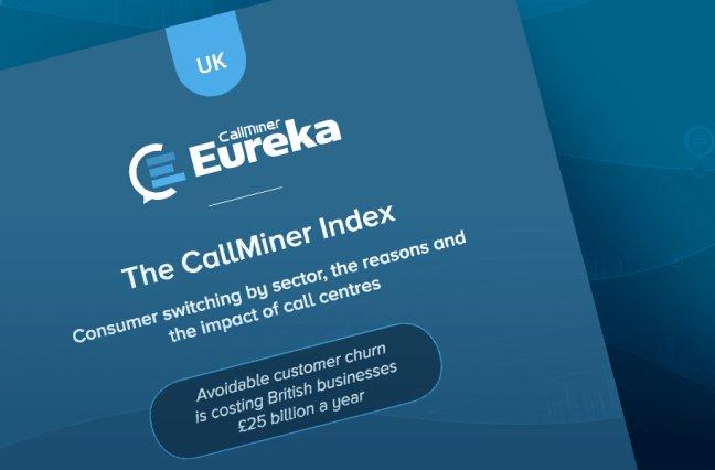 UK The CallMiner Index graphic
