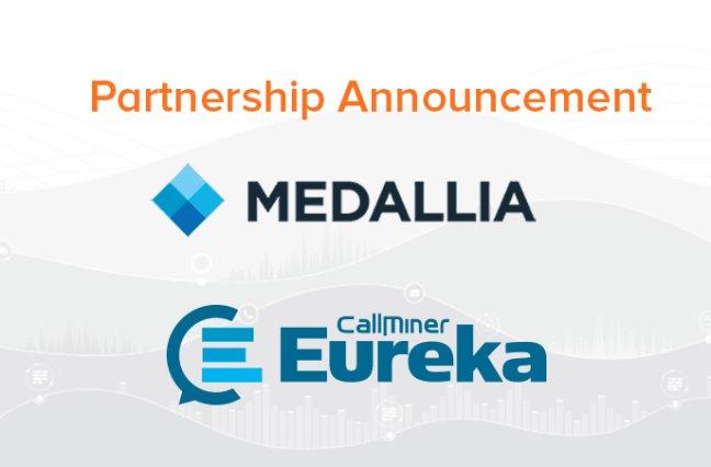 Medallia and CallMiner company logos