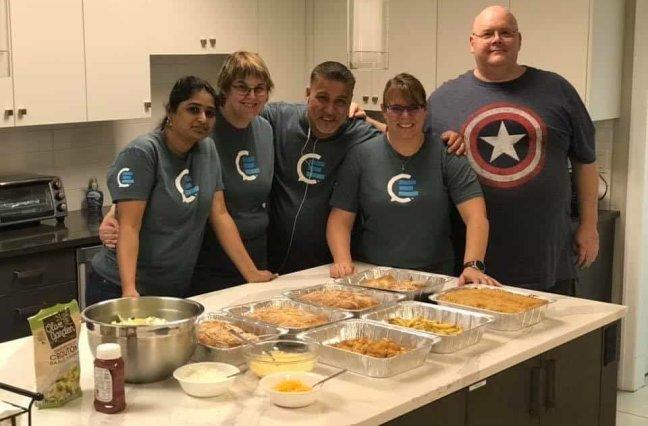 CallMiner Employees Give Back at Ronald McDonald House
