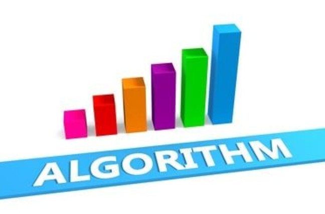 Great Algorithm Concept with Good Chart Showing Progress