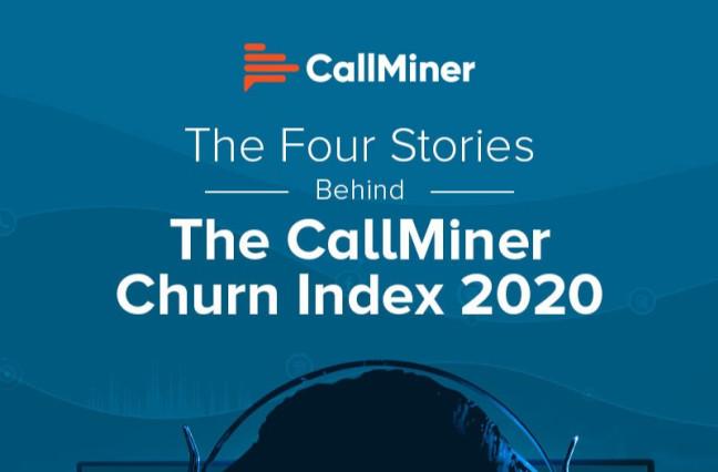 US CallMiner Churn Index Infographic