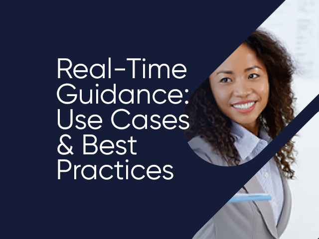 Real-Time Guidance: Use Cases & Best Practices Whitepaper