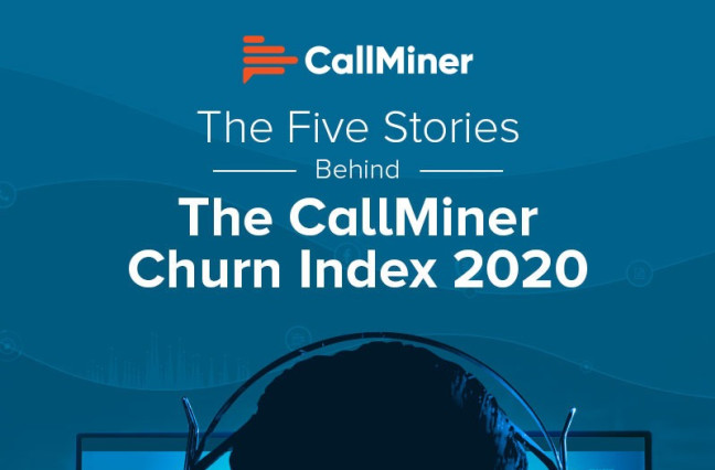 UK CallMiner Churn Index Infographic