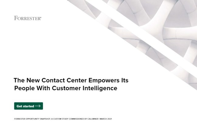 Forrester Study Highlights the Value of Customer Intelligence