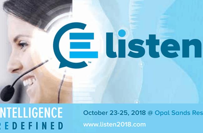 CallMiner's LISTEN 2018 event