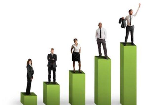 People on KPI growth blocks
