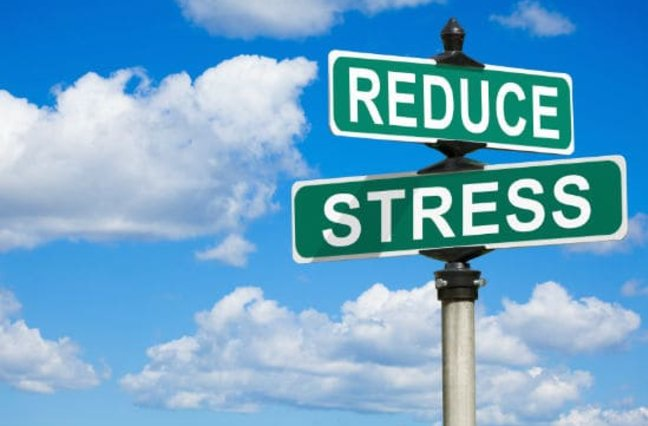 street signs Reduce and Stress