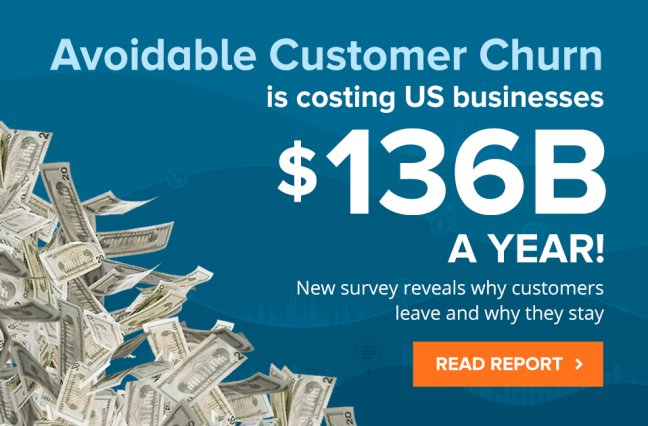 Avoidable customer churn is costing US businesses $136B a year - read the report