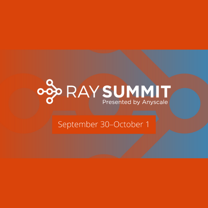 RaySummit Banner Virtual Snackable