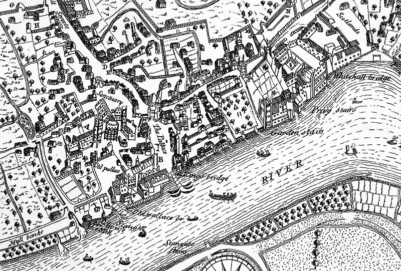 Plan of Westminster from Nordon Smith Crop