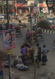 Photo of Rickshaws in Bangladesh