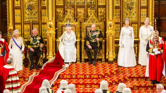 The Queen's Speech opening the 2015 parliamentary session