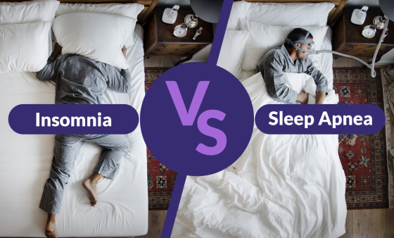 Insomnia vs Sleep Apnea