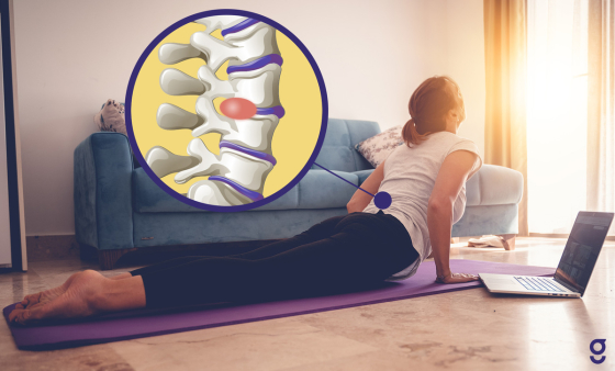 Back Exercises for a Herniated Disc