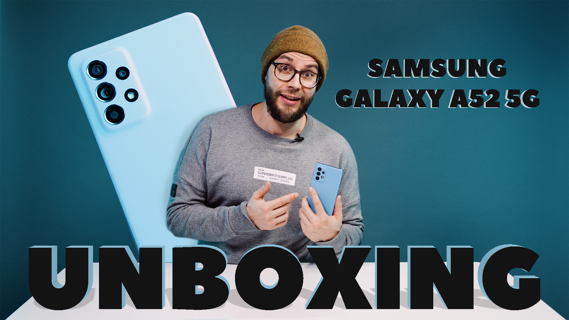 SamsungA52 UNBOXING