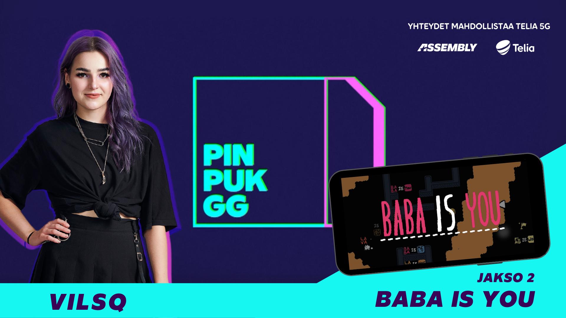 PinPukGG - Baba Is You