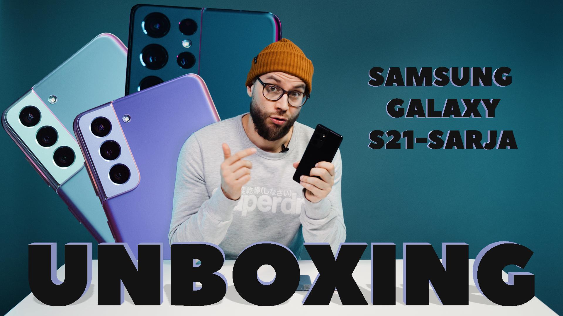 SamsungS21 Sarja UNBOXING