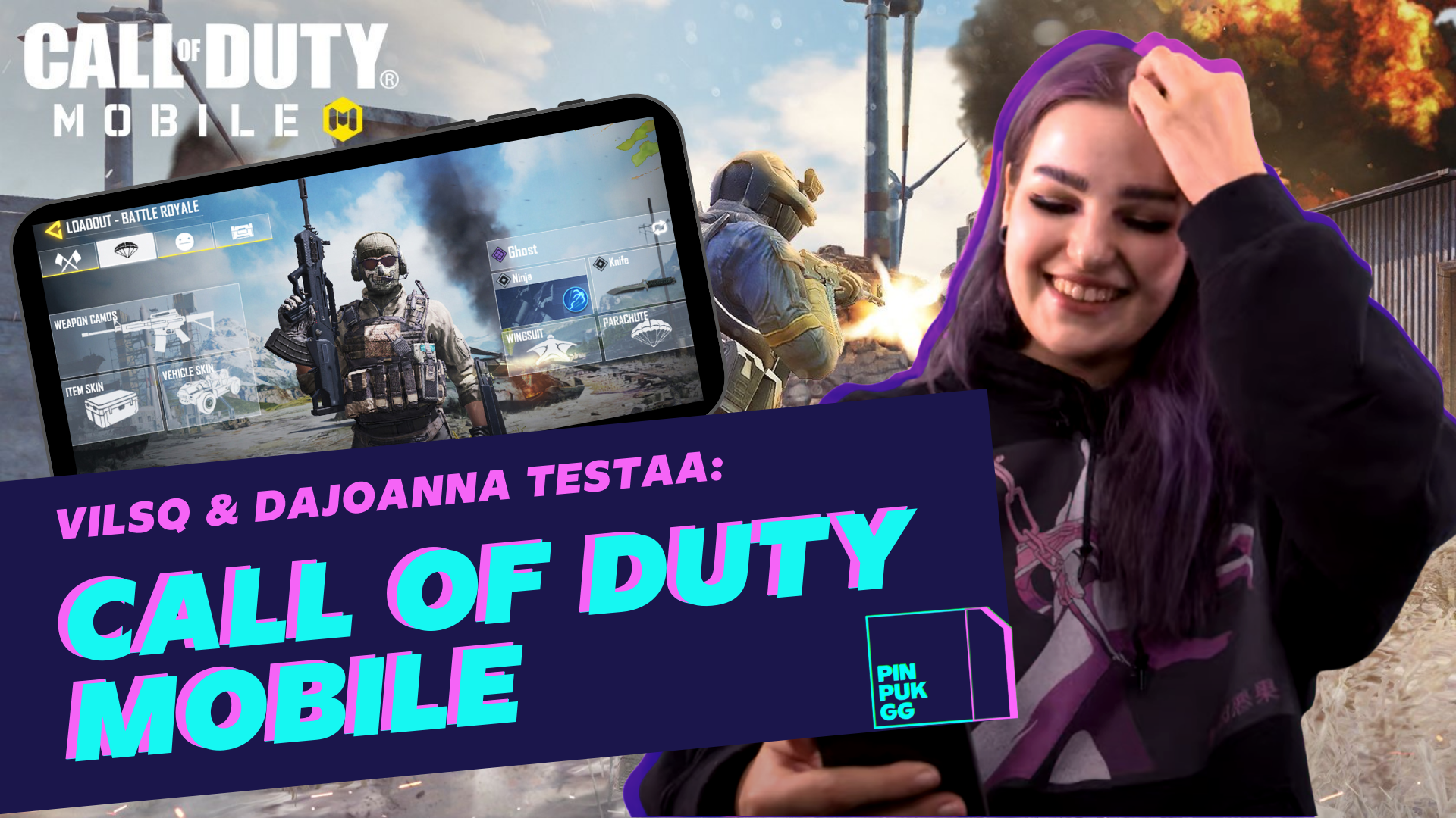 Call of Duty mobiiliversio - PinPukGG