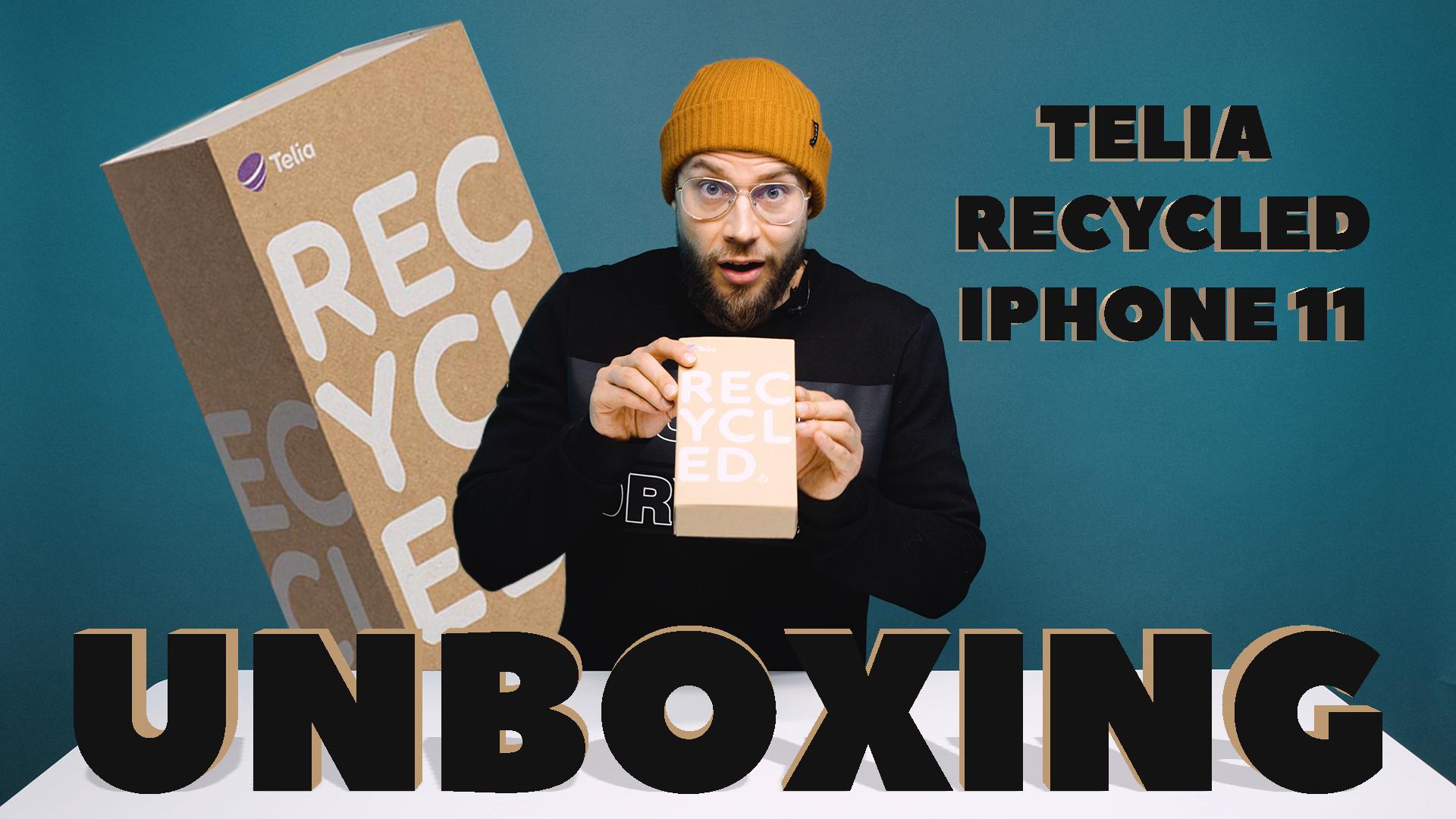 Telia Recycled UNBOXING