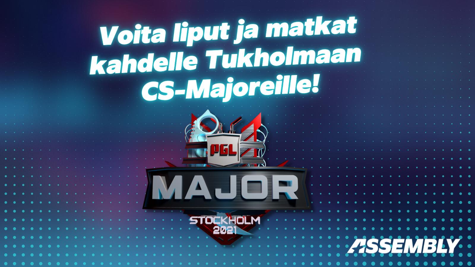 Voita liput Tukholman CS-Majoreille.