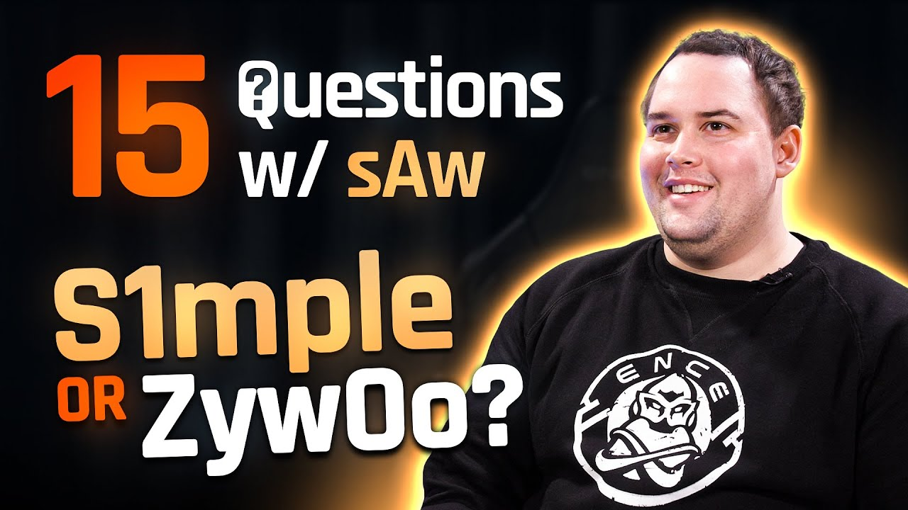 ENCE TV - 15 QUESTIONS WITH SAW