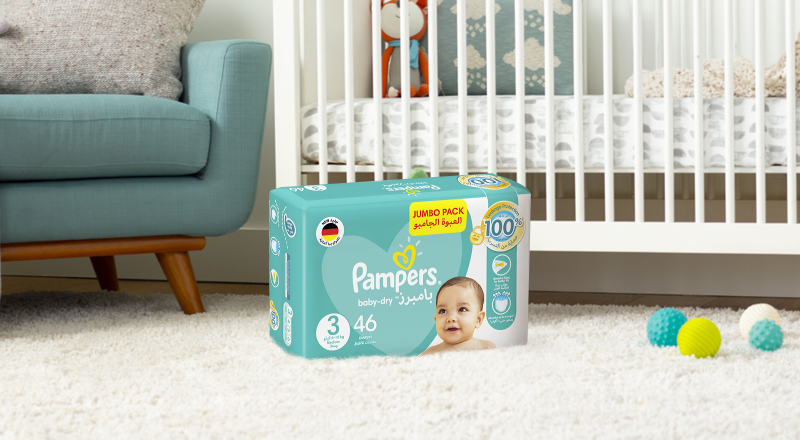 Pampers® new baby-dry™