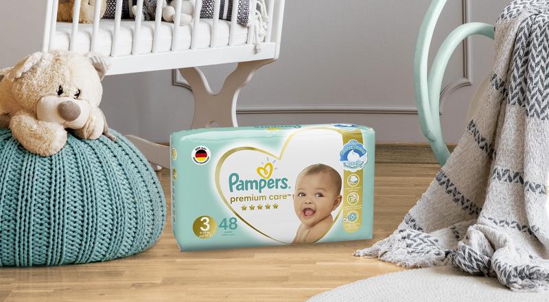 Pampers® Premium Care™