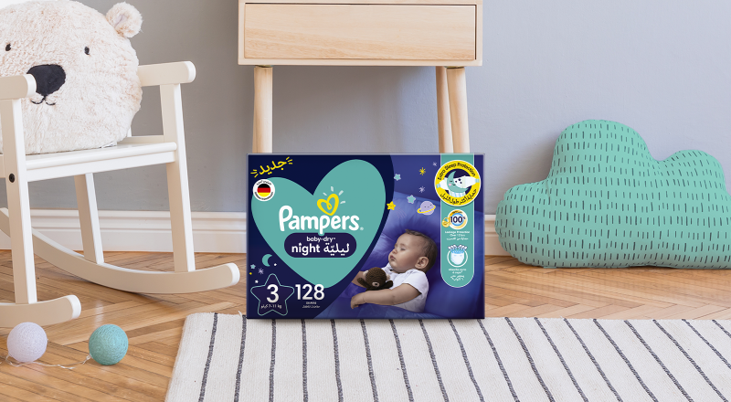 Pampers® Baby Dry Night Diapers™