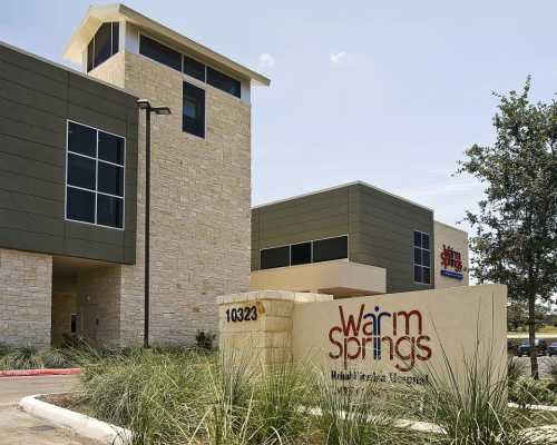 Warm Springs Rehabilitation Hospital,  Westover Hills, San Antonio, Texas