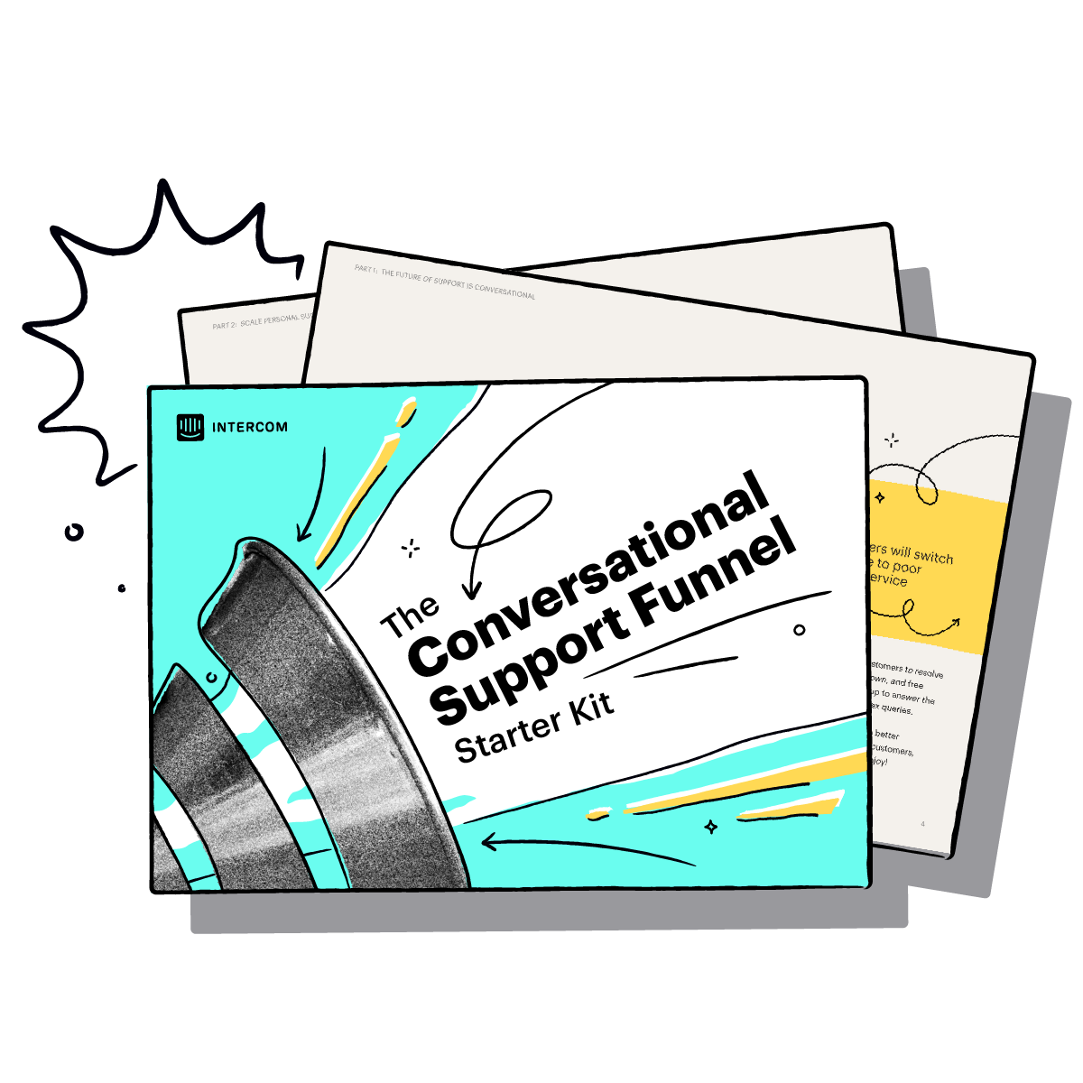 The Conversational Support Funnel starter kit