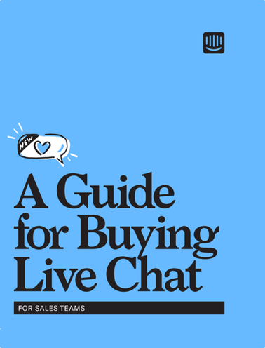 Buying the right live chat software for your business can be overwhelming – this guide will help you make the right decision