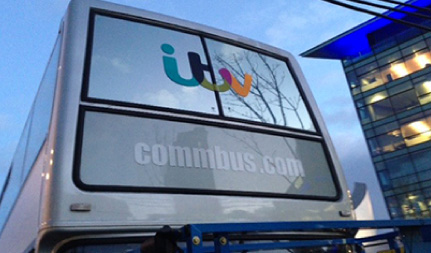 ITV Leaders Office On Location Bus