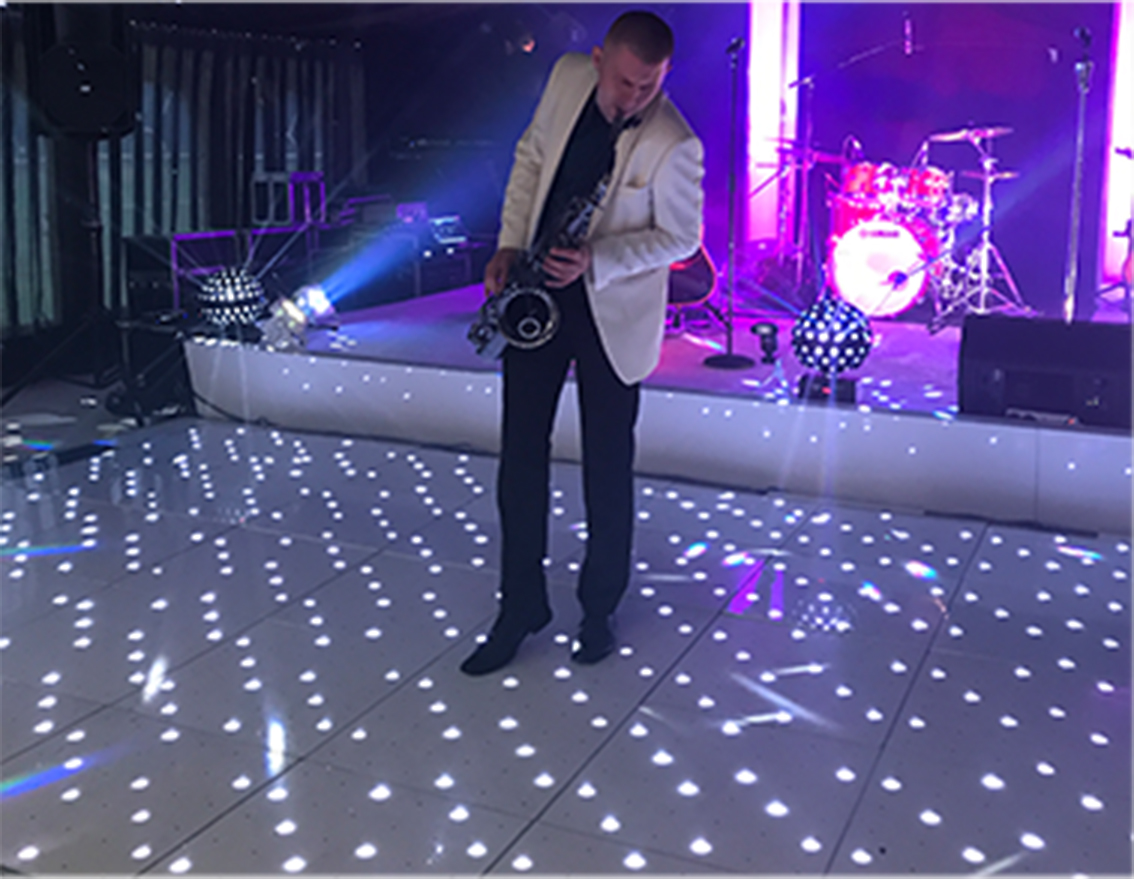 LED dance floor for hire