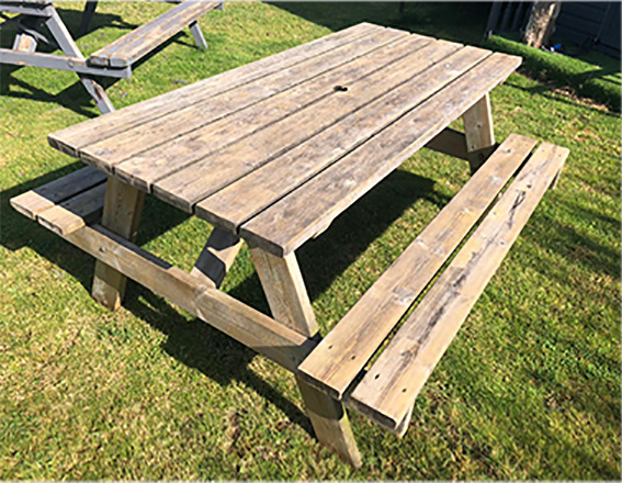 Picnic benches for hire