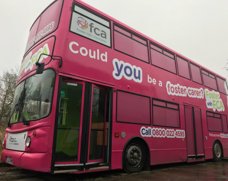 Foster Care Associates Branded Bus