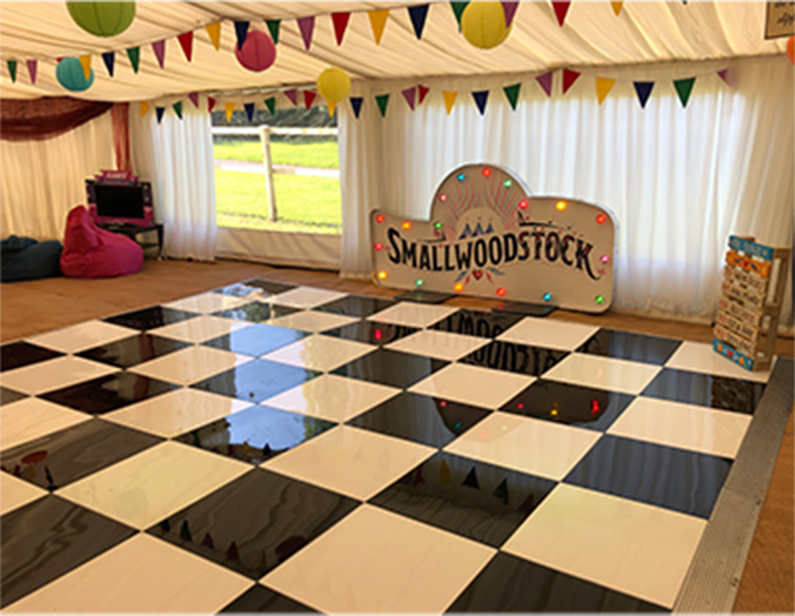 Dance floor for hire